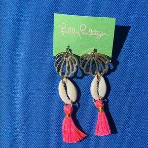 NEW Lilly Pulitzer tassel earrings